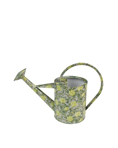 Victoria & Albert Watering Can with Roses, Yellow & Grey