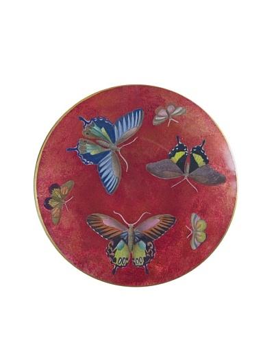 Victoria Fischetti Butterfly Bowl Handmade Decoupage
