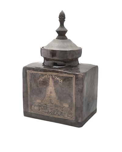 Palais Royal Eiffel Tower Ceramic Jar, Small
