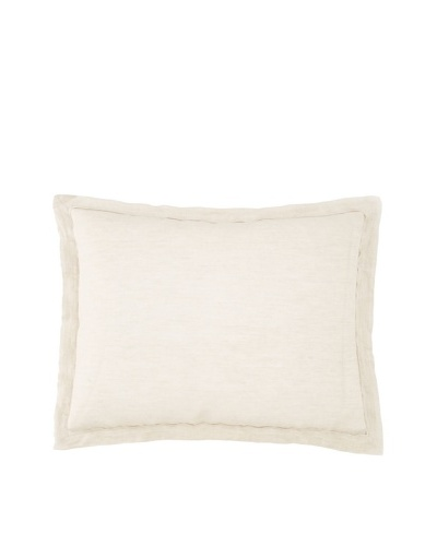 Villa Home Cosmo Pillow Sham, Natural, Standard