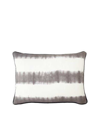 Villa Home Tribal Soho Pillow, Grey/White, 14 x 20