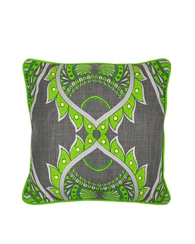 Villa Home Muse Pillow, Green