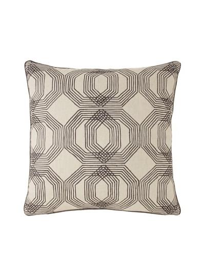 Villa Home Kyoto Decorative Pillow, Grey, 22″ x 22″