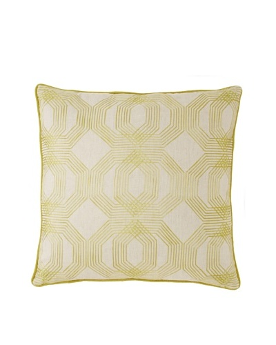 Villa Home Kyoto Decorative Pillow, Antique Green, 22 x 22