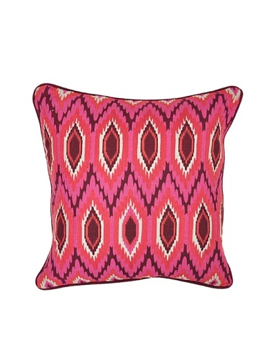 Villa Home Yasmin Pillow, Pink