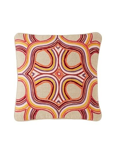 Villa Home Artista Decorative Pillow, Multi, 18 x 18
