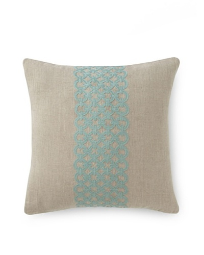 Villa Home Illusion Link Pillow [Turquoise]