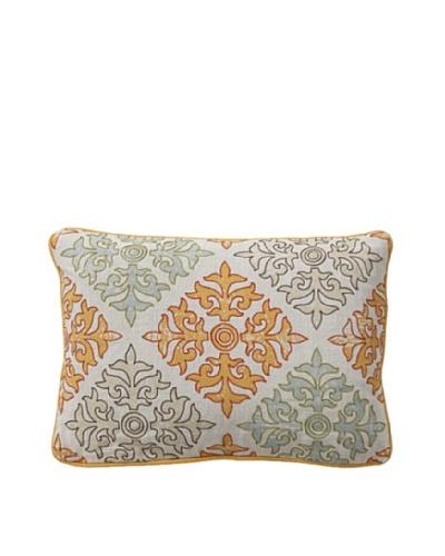 Villa Home Tilework Pillow, Multi