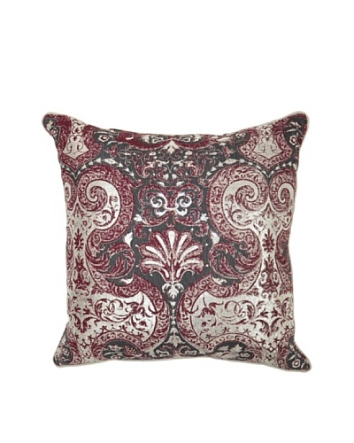 Villa Home Allure Pillow, Burgundy