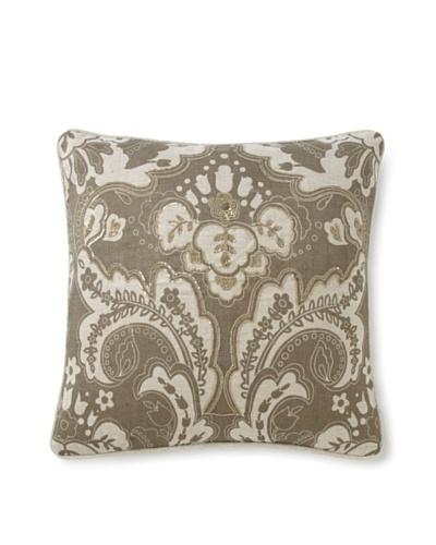 Villa Home Baroque & Roll Luxe Stone Pillow [Linen]