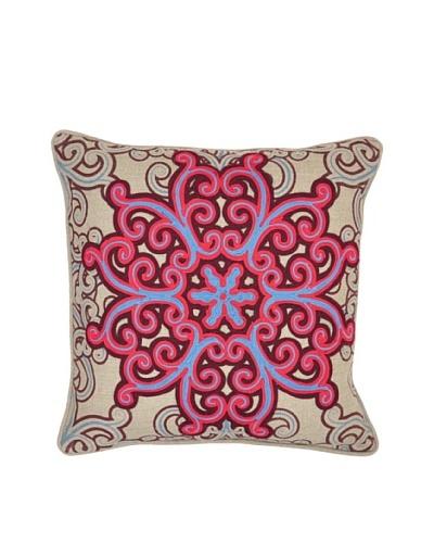 Villa Home Rhodes Pillow, Red