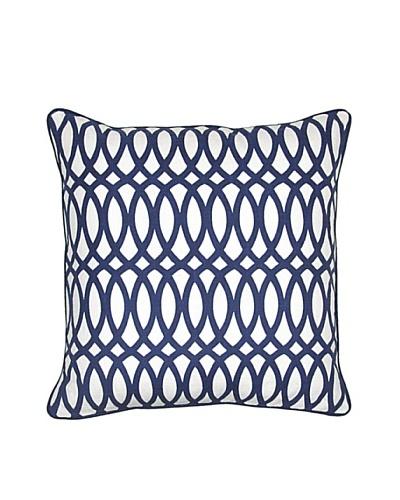 Villa Home Geo Pillow, Blue