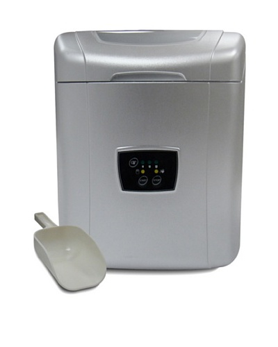 Vinotemp Portable Ice Maker, Silver