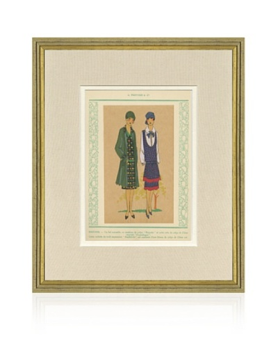 1920's Fashion Print XI, 18 x 15