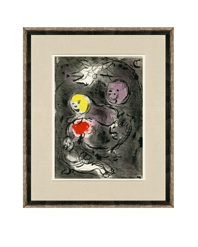 Marc Chagall: Le Prophete Daniel Avc Les Lions