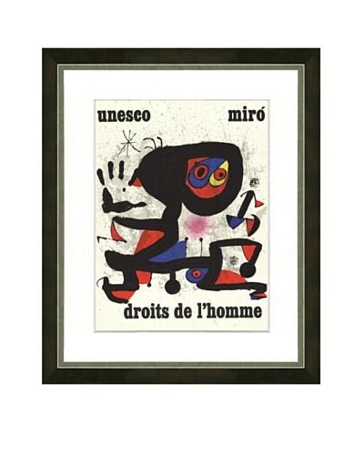 Miró: Droit de l'Homme
