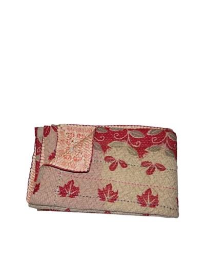 Large Vintage Parul Kantha Throw, Multi, 60″ x 90″
