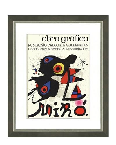 Joan Miró: Obra Grafica, 1974