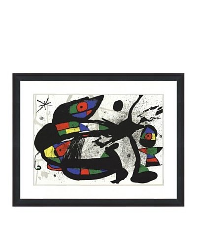 Joan Miró: Original Lithograph, 1973