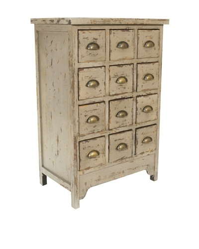 VIP International 12 Drawer Apothecary