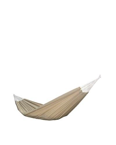 Vivere Brazilian Style Sunbrella Double Hammock, Sand