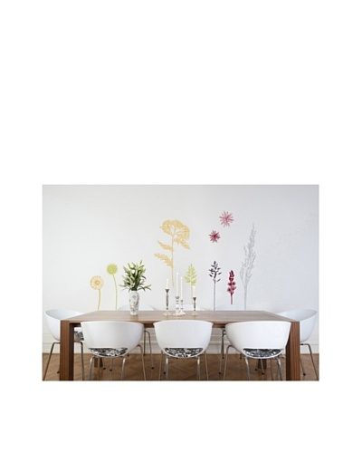 Wildflower Meadow Panel Decal