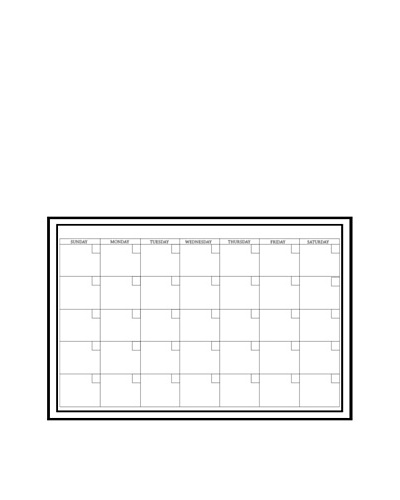 Peel & Stick Dry-Erase Monthly Calendar Decal