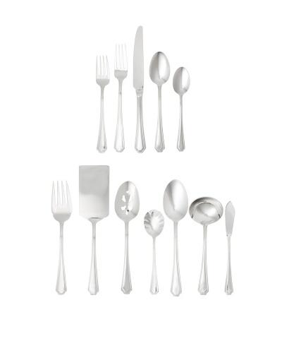 Wallace 104-Piece Arlington Flatware Set, Silver