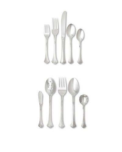 Wallace 65-Piece Resplendence Flatware Set, Silver