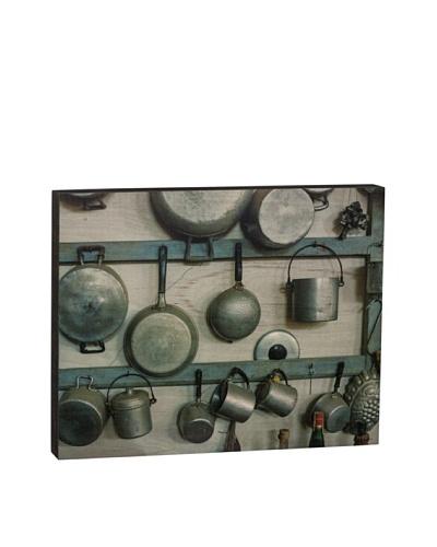 """Walnut Hollow """"Vintage Kitchen Equipment"""" Wooden Shadowbox Plaque"""