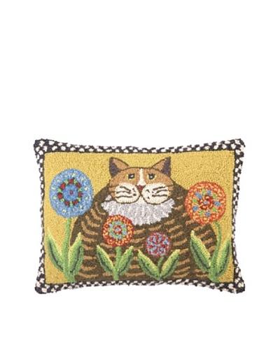 Warren Kimble Fatty Cat Hook Pillow
