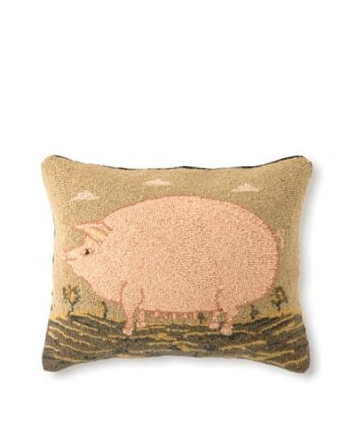 Warren Kimble American Pig Hook Pillow