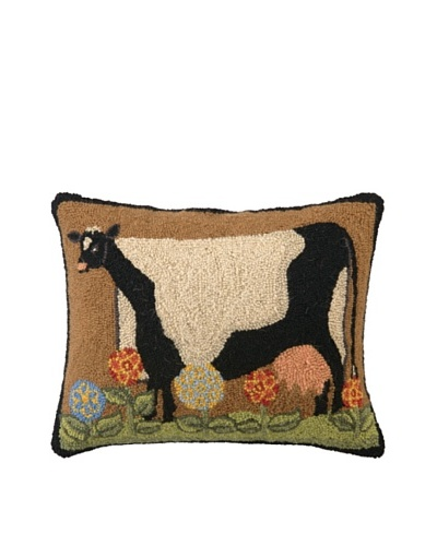 Warren Kimble Live Simply Cow Hook Pillow