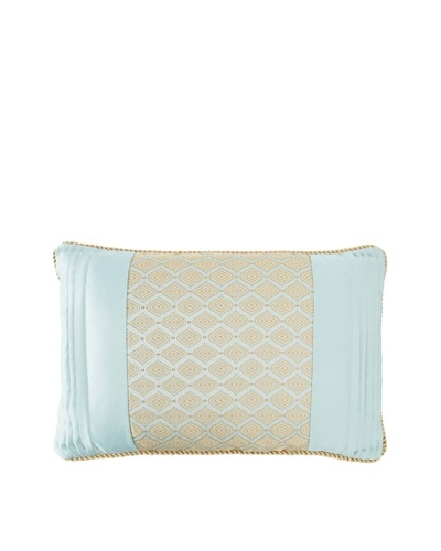 Waterford Linens Elenora Decorative Pillow, Blue, 12 x 18