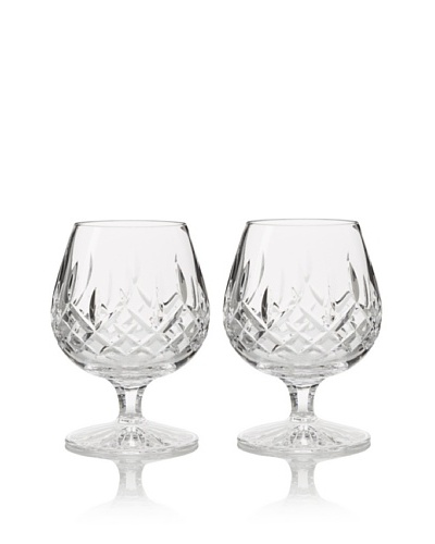 Waterford Pair of Lismore 12-Oz. Brandy Balloon Snifters