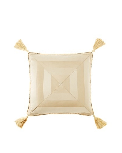 Waterford Linens Anya Decorative Pillow, Gold, 18 x 18
