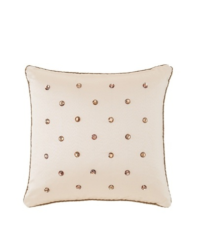 "Waterford Linens Callum Decorative Pillow, Spice, 16"" x 16"""