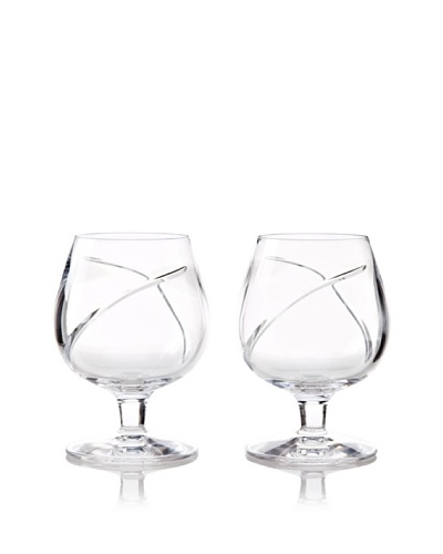 Waterford Pair of Siren Brandy Snifters
