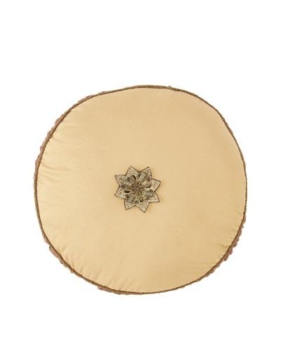 Waterford Linens Callum Decorative Pillow, Spice, 14″ Round