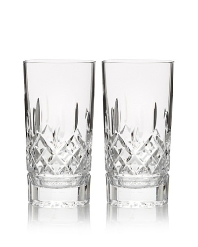 Waterford Pair of Lismore 12-Oz. Hi-Ball Glasses