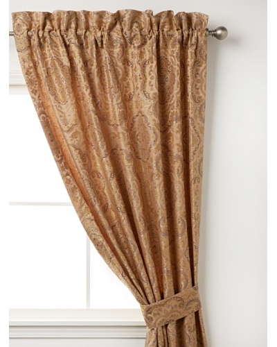 "Waterford Linens Callum Curtain Panel, Spice, 50"" x 84"""
