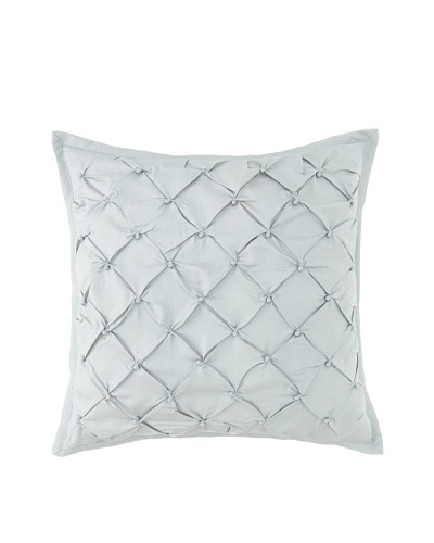 Waterford Linens Kelly Decorative Pillow, Sea Blue, 18 x 18