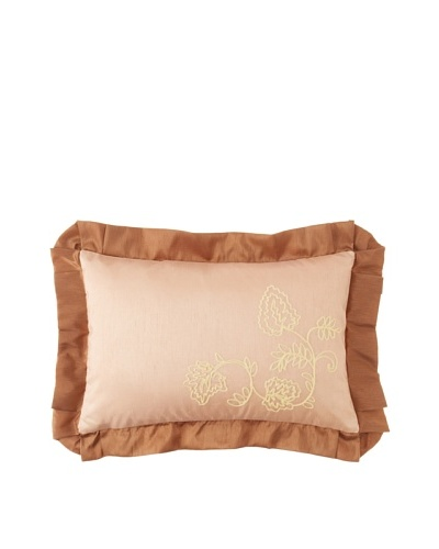 Waterford Linens Callum Decorative Pillow, Spice, 12 x 18