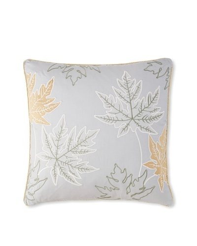Waterford Linens Kelly Decorative Pillow, Sea Blue, 20 x 20