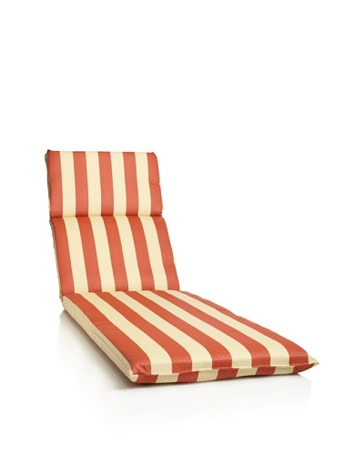 Waverly Sun-n-Shade Solstice Chaise Lounge Cushion [Mango]