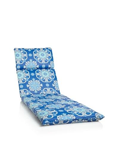 Waverly Sun-n-Shade Garden Crest Chaise Lounge Cushion [Marine]