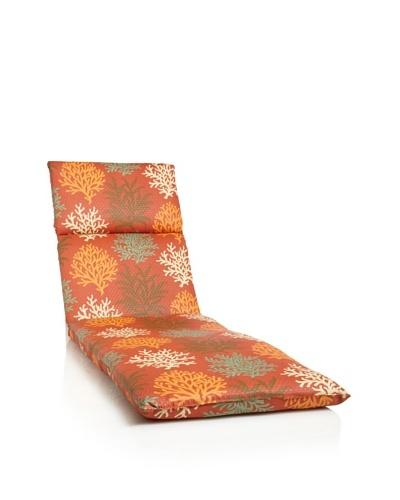Waverly Sun-n-Shade Marine Life Chaise Lounge Cushion [Mango]