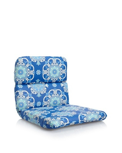 Waverly Sun-n-Shade Garden Crest Rounded Chair Cushion [Marine]