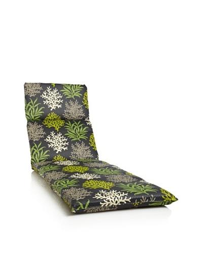 Waverly Sun-n-Shade Marine Life Chaise Lounge Cushion [Onyx]