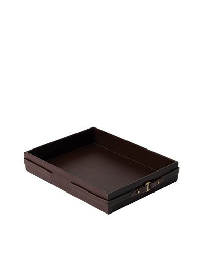 Wedgwood Equestria Desk Tray, Leather
